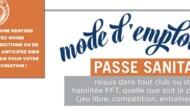 Pass'Sanitaire et conseils (30.08.21)